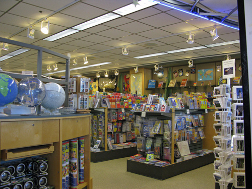 Visting the DeLorme Map Store in Yarmouth Maine – Fuzzygalore.com on