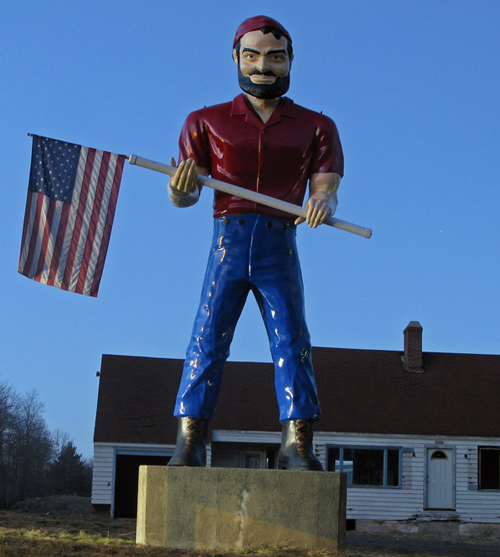 Muffler Man Cheshire Connecticut House of Doors