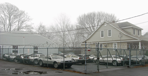 Delorean Motor Cars spotted on Long Island